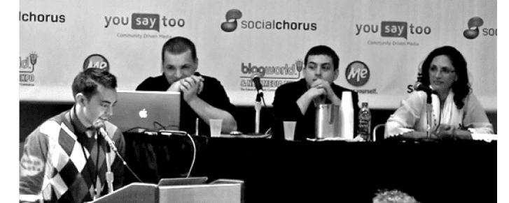 Blog World Expo Pat Flynn Panel
